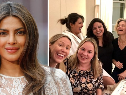 Priyanka Chopra fitted for Philip Treacy hat for royal wedding – but her dress still hasn't arrived