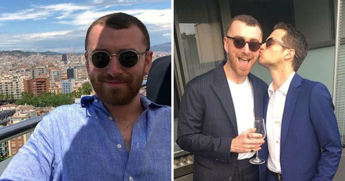 13 Reasons Why actor posts loving tribute to 'angel' boyfriend Sam Smith on his 26th birthday