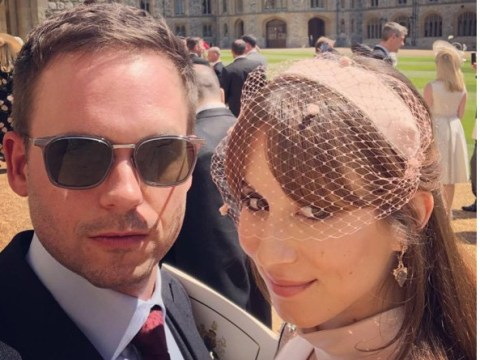 Suits cast share behind-the-scenes snaps from Prince Harry and Meghan Markle's royal wedding