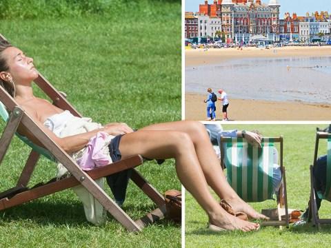 Ten day heatwave coming with temperatures up to 25C until June