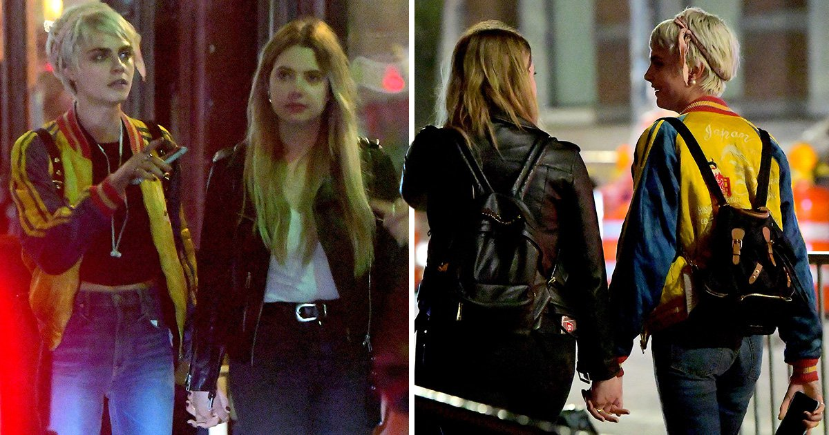 New couple alert? Cara Delevingne and Ashley Benson hold hands in New York