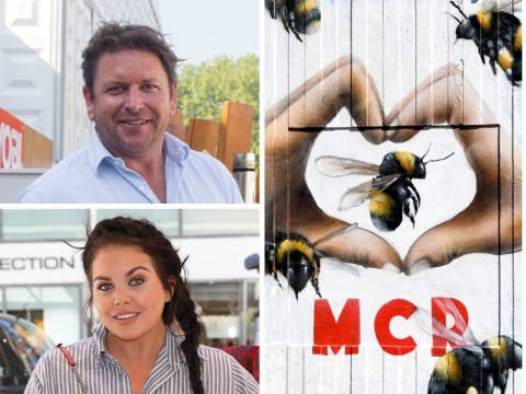 James Martin and Scarlett Moffatt lead celebrity tributes to mark anniversary of attack on Manchester Arena