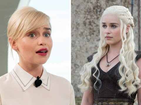 Emilia Clarke celebrates birthday with an incredible Game Of Thrones-inspired cake