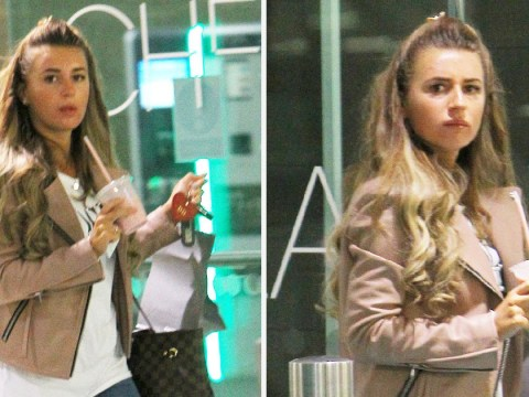 Dani Dyer spotted for the first time since being cast on Love Island despite kissing ban