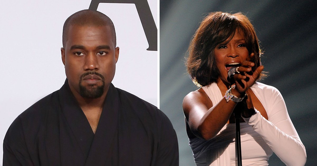 Kanye spent thousands on Whitney Houston's drug-filled bathroom photo for Pusha T album cover because 'people need to see it'
