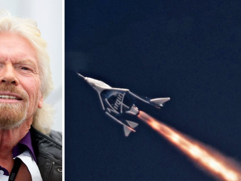 Sir Richard Branson is training as an astronaut and hopes to travel into space