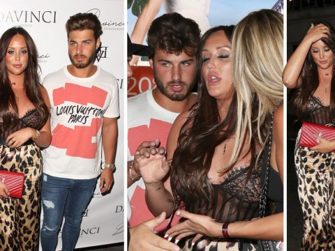 Charlotte Crosby has wild night out with Joshua Ritchie after confessing they texted during Bear relationship