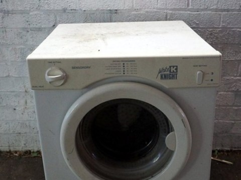 Council says artist's washing machine is a health and safety hazard