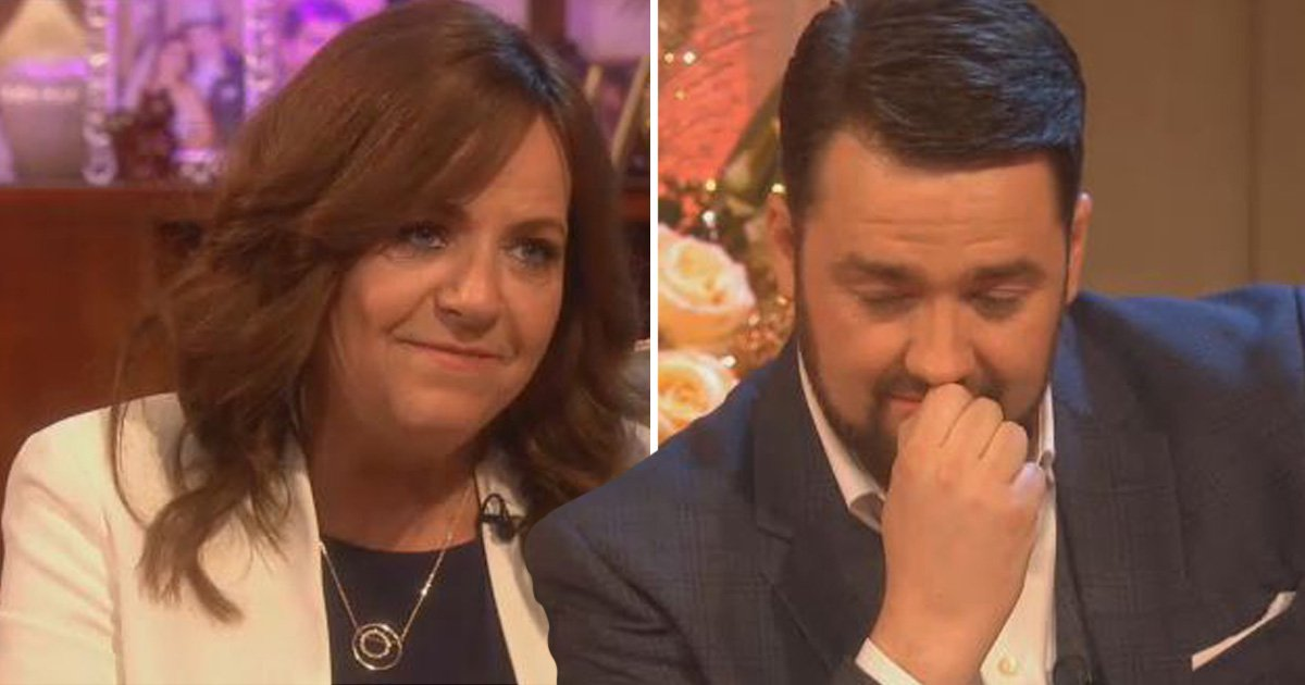 Jason Manford mortified as his mum reveals he showed her vibrator to a priest as a child