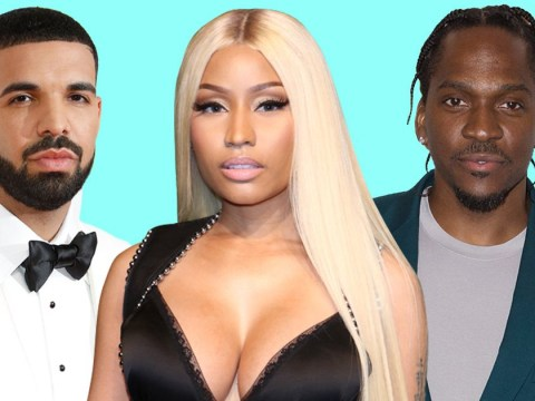 Nicki Minaj fiercely backs Drake after his diss track firing back at Kanye West and Pusha T