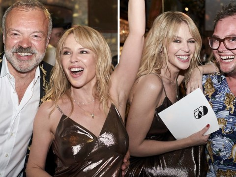 Inside Kylie Minogue's stunning 50th birthday party complete with themed cocktails and a cake with 50 gold candles