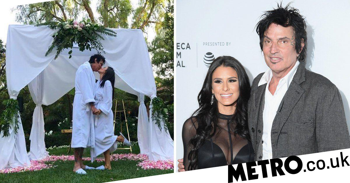 Tommy Lee Wedding Tommy Lee Marries Social Media Star Brittany