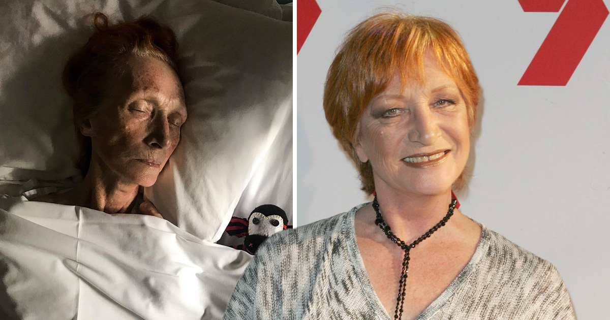 Home And Away actress Cornelia Frances dies aged 77 of cancer as son posts final photo