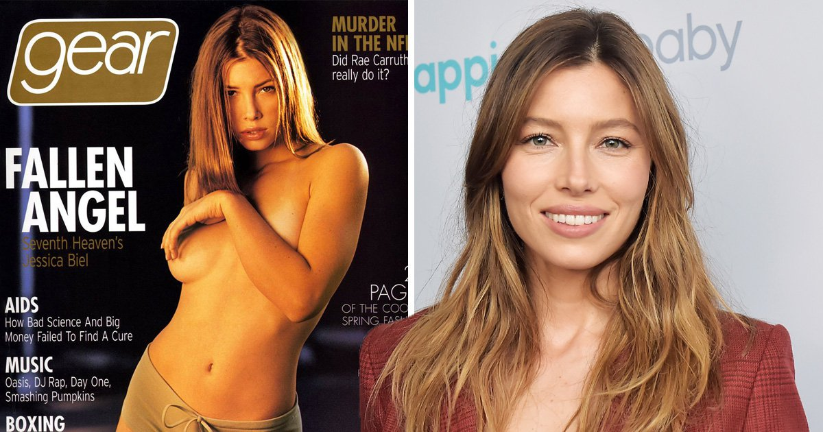 Jessica Biel was forced to apologise to 7th Heaven crew after posing topless aged 17