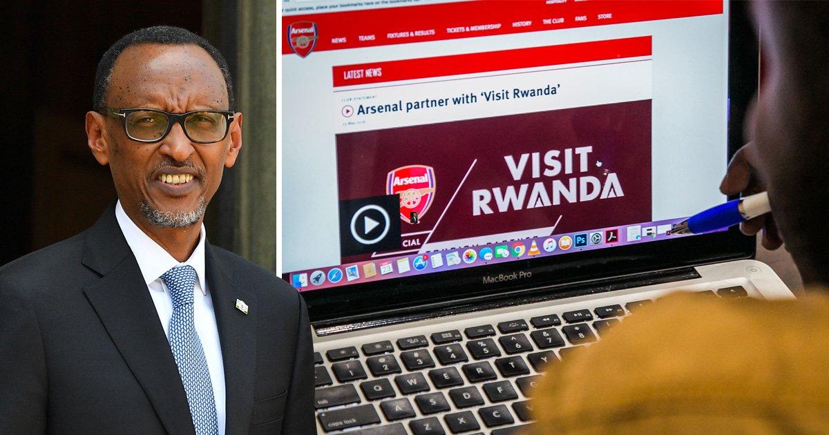 Rwanda defends paying £30,000,000 to Arsenal while receiving UK aid