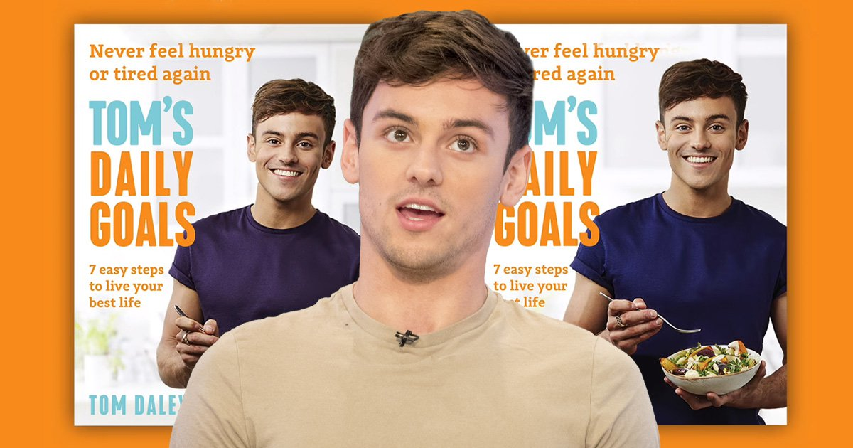 Tom Daley instantly becomes meme as he asks internet to choose between near-identical cook-book covers