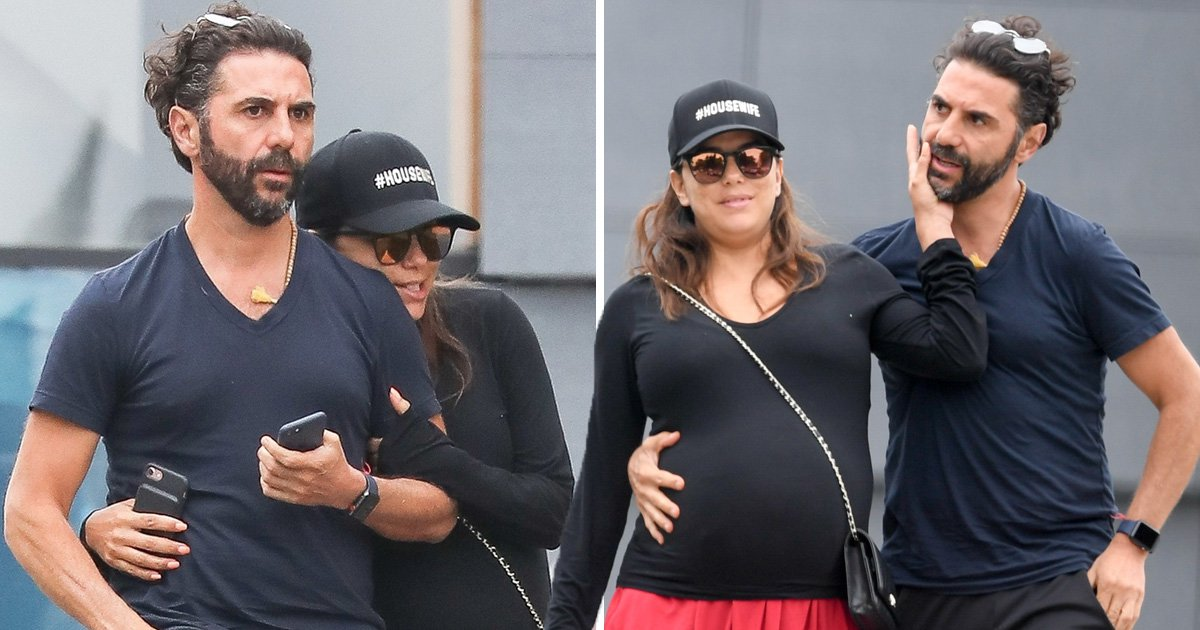 Eva Longoria and husband Pepe are too cute for words as actress nears her due date
