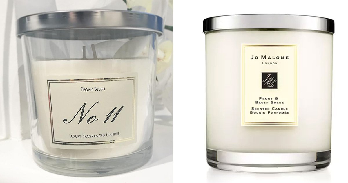 Aldi's £3.99 version of Jo Malone's £45 peony candle might be better than the real thing