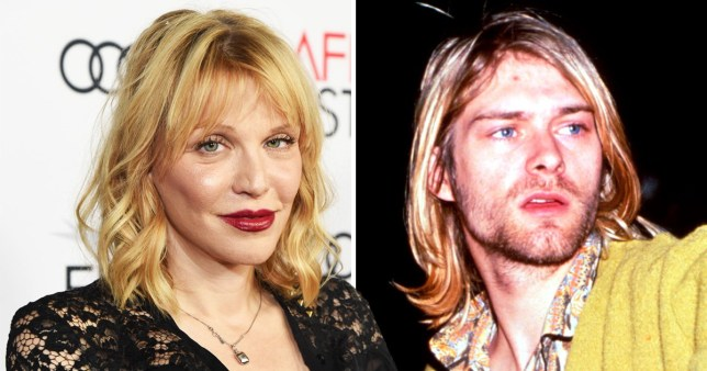 Courtney Love And Kurt Cobain Wedding.Courtney Love S Son In Law Had Frightening Obsession With