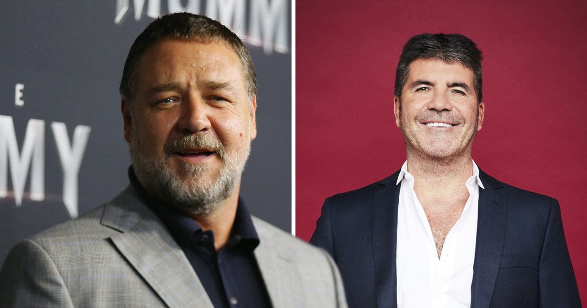 Will Russell Crowe become a judge on Australia's Got Talent? Simon Cowell says he's interested