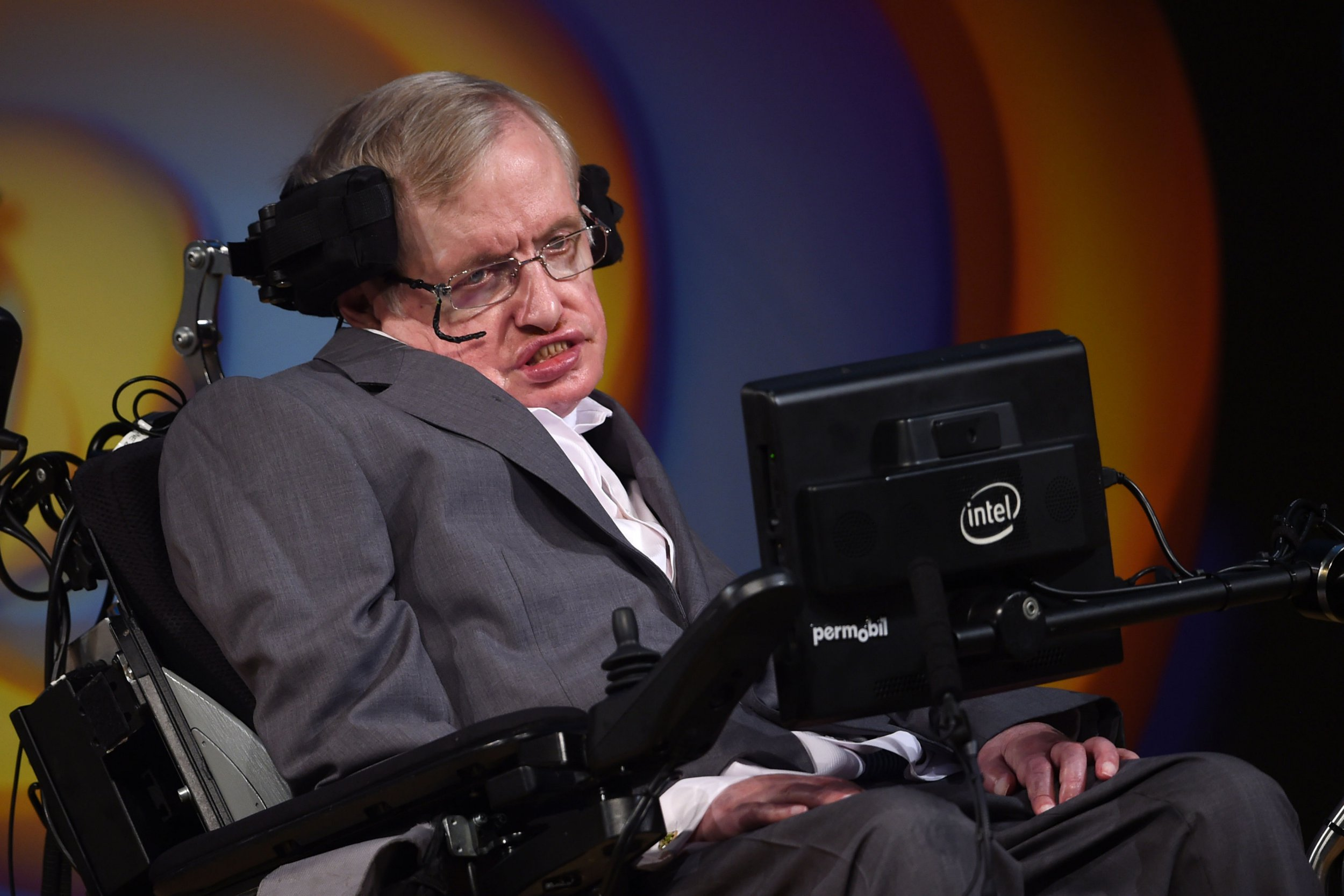 File photo dated 02/07/17 of Professor Stephen Hawking, as the renowned cosmologist's final theory, submitted before his death on March 14, has been published. PRESS ASSOCIATION Photo. Issue date: Wednesday May 2, 2018. Working with Belgian colleague Professor Thomas Hertog, Prof Hawking extended the weird notion of a holographic reality to explain how the universe came into being from the moment of the Big Bang. See PA story SCIENCE Hawking. Photo credit should read: Joe Giddens/PA Wire