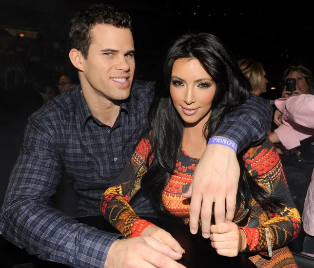 "NEW YORK, NY - FEBRUARY 07: (Exclusive Coverage) Kris Humphries and Kim Kardashian watch Prince perform during his ""Welcome 2 America"" tour at Madison Square Garden on February 7, 2011 in New York City. (Photo by Kevin Mazur/WireImage)"