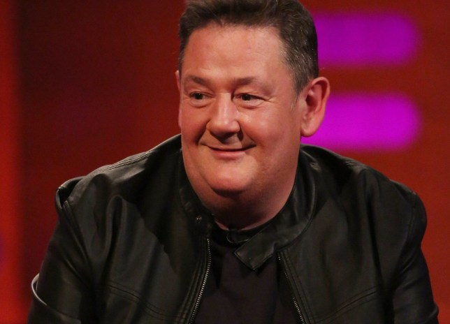 Johnny Vegas during filming for the Graham Norton Show at BBC Studioworks in London, to be aired on BBC One on Friday evening. PRESS ASSOCIATION Photo. Picture date: Thursday May 3, 2018. Photo credit should read: PA Images on behalf of So TV