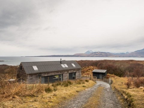 A 'shed' on the Isle of Skye is selling for half a million pounds