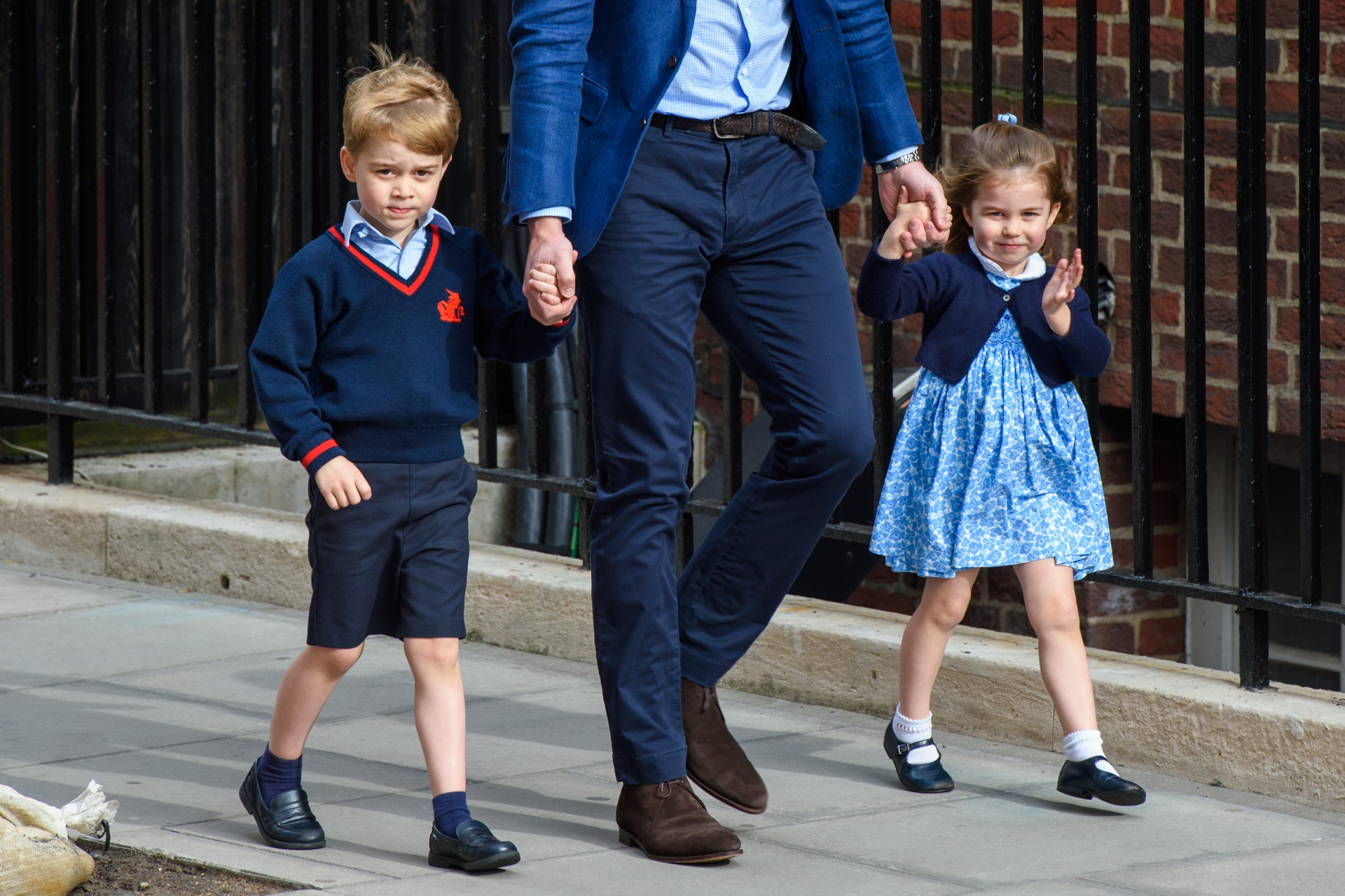 Prince George and Princess Charlotte expected to be page boy and flower girl