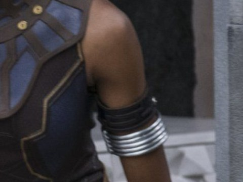 Black Panther offers a 'dope balance' between the women and men of Wakanda says Letitia Wright
