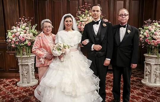 Big Bang wedding - CHECK WE HAVENT DONE Credit: CBS
