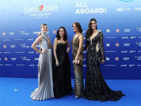 Meet Eurovision presenters Filomena Cautela, Silvia Alberto, Daniela Ruah and Catarina Furtado