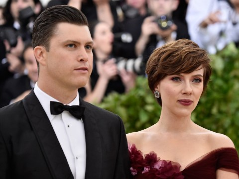 Scarlett Johansson controversially shows support for Harvey Weinstein's wife by wearing Marchesa gown to Met Gala