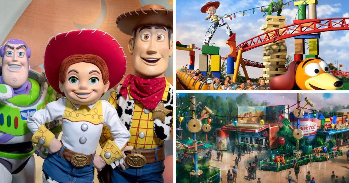 Take a sneak peek at Disney World's brand new Toy Story Land