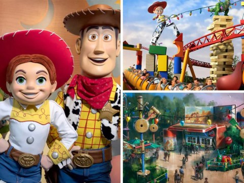 Take a sneak peek at Disney World's brand new Toy Story Land
