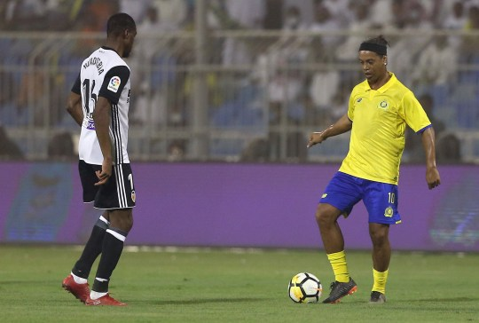 Ronaldinho Denies He's Getting Married To His 'two