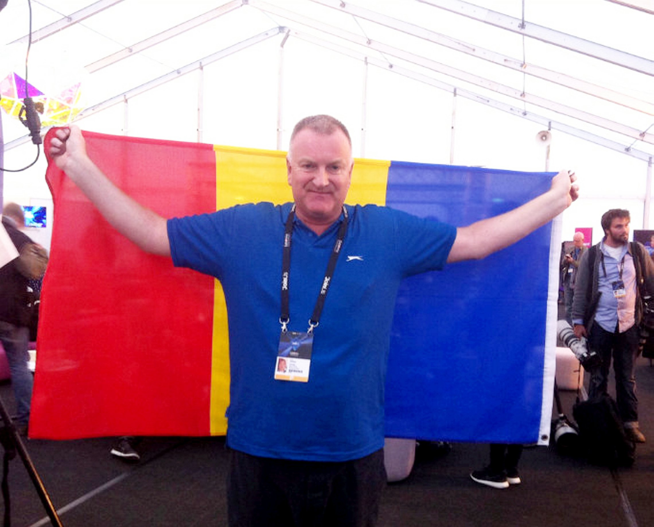 Meet Eurovision's biggest fan who's racked up over 35,000 miles driving to live finals