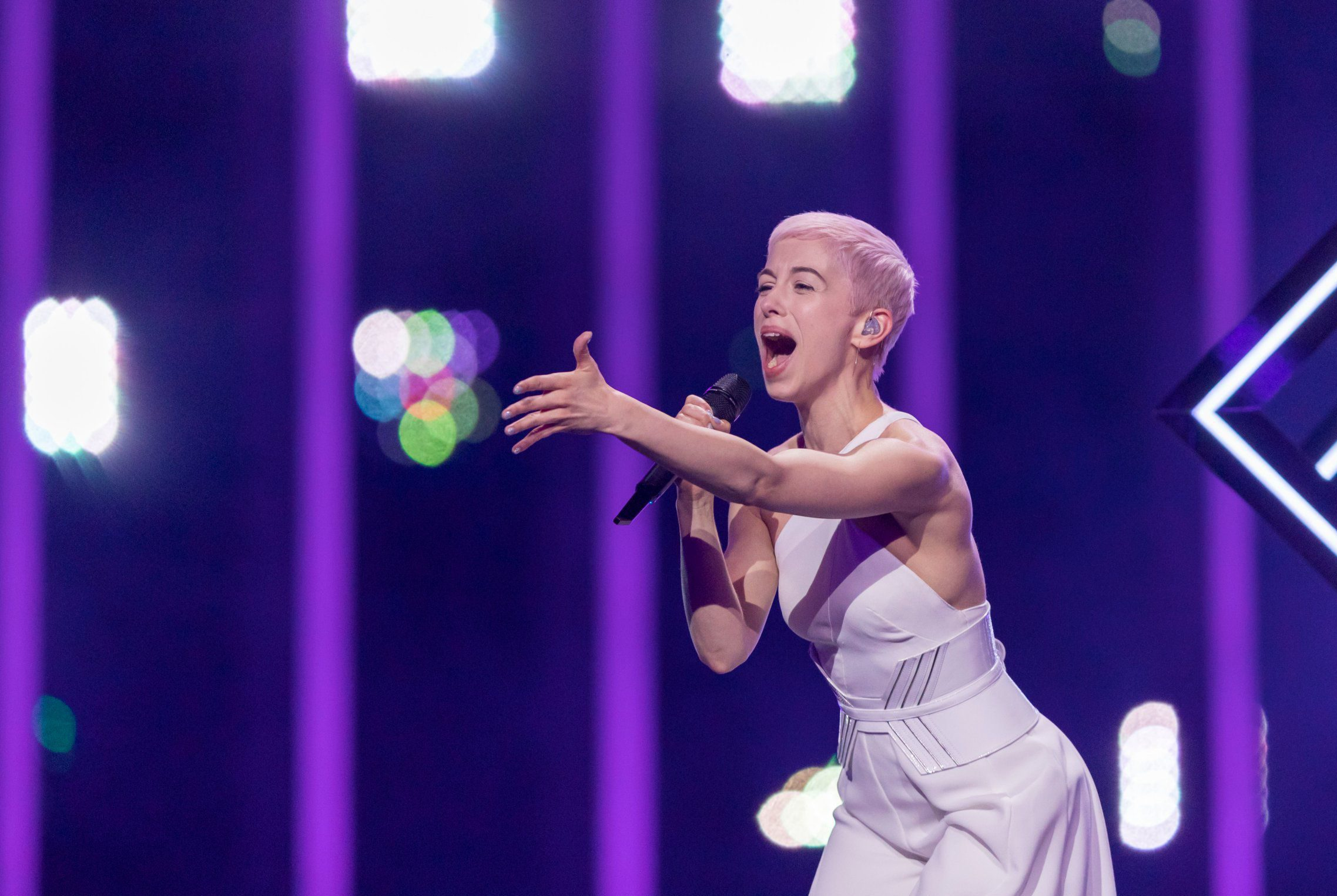 SuRie still has sense of humour as she breaks silence following Eurovision stage crasher ruins performance