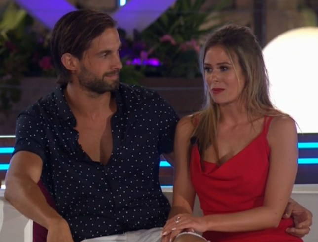Editorial Use Only. No merchandising Mandatory Credit: Photo by ITV/REX/Shutterstock (8971992bl) Jamie Jewitt and Camilla Thurlow 'Love Island' TV show, Mallorca, Spain - 24 Jul 2017