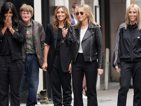 All Saints look seriously cool as they 'shoot music video in London' and hint at new music