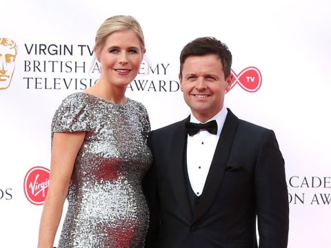 Declan Donnelly shows off pregnant wife Ali Astall at Bafta TV awards as he arrives without Ant McPartlin