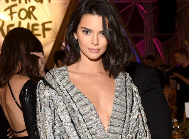 CANNES, FRANCE - MAY 13: Model Kendall Jenner attends Fashion for Relief Cannes 2018 during the 71st annual Cannes Film Festival at Aeroport Cannes Mandelieu on May 13, 2018 in Cannes, France. (Photo by Dave Benett/FFR/Getty Images)