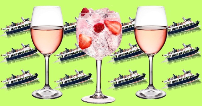 This Rosé And Gin Summer Boat Cruise Sounds Incredible