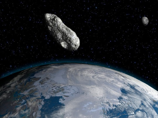 'Lost' death asteroid which vanished for eight years is about to skim past Earth tomorrow