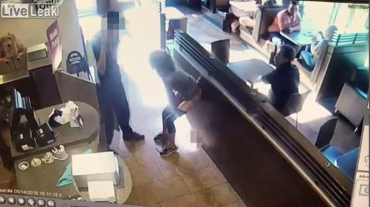 Furious woman poos on floor of Tim Hortons then hurls it at