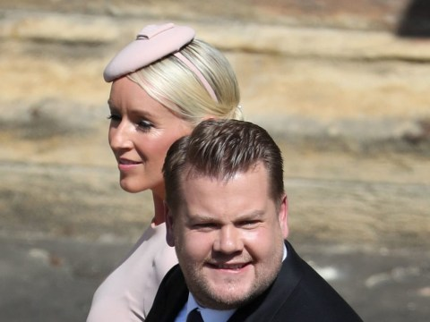 James Corden 'refereed a dance off at the Royal wedding as the guests played beer pong'