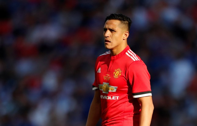 Soccer Football - FA Cup Final - Chelsea vs Manchester United - Wembley Stadium, London, Britain - May 19, 2018 Manchester United's Alexis Sanchez during the match Action Images via Reuters/Lee Smith