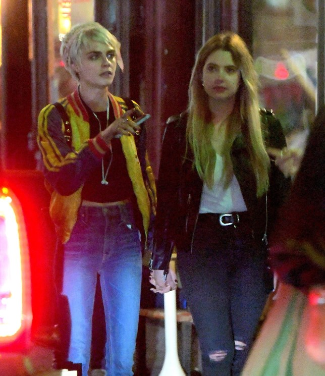 New Couple Alert Cara Delevingne And Ashley Benson Hold Hands In