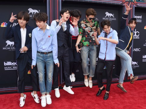 Billboard Music Awards 2018: BTS is having the time of their lives