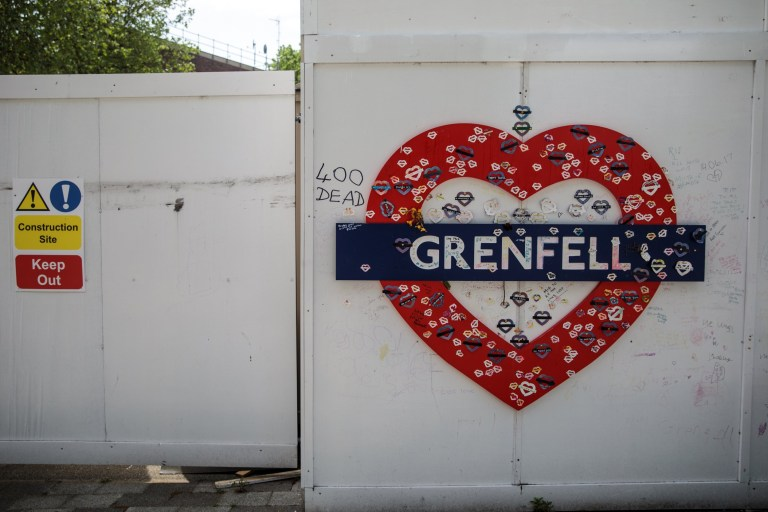 I want to die so I can see dad in heaven' says Grenfell